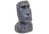 Large Stone Effect Easter Island Head Ornament