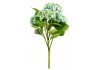 Ornamental Blue Hydrangea 5 Flower Stem