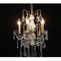 Gold French Small Chandelier