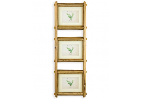 "Reclaimed Pine Triple 4x6"" Wall Photo Frame"