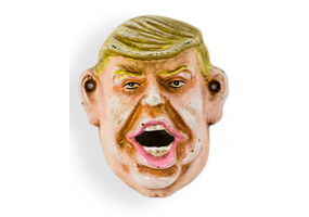 Cast Iron Antiqued Donald Trump Bottle Opener