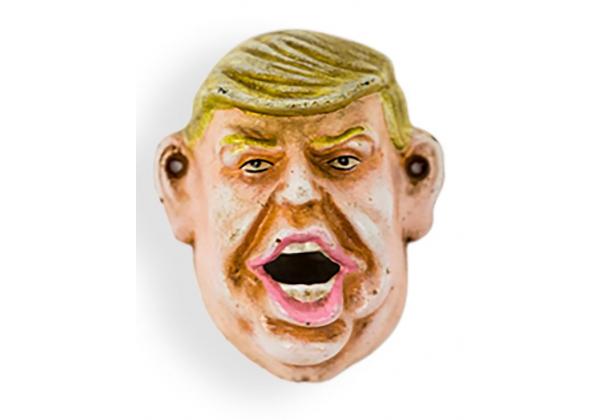 Cast Iron Antiqued Donald Trump Bottle Opener