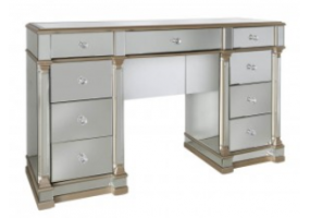 Apollo 9 Drawer Mirror Champagne dressing Table