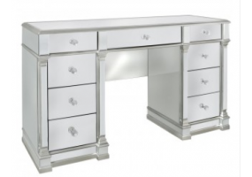 Apollo Silver Mirrored Dressing Table
