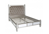 Champagne Apolco Mirror King Size Bed Frame
