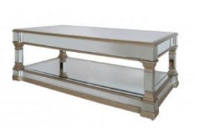 Apollo Silver Mirrored Coffee Table