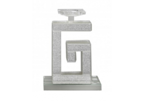 Arena Champagne Sparkle 'G' Candle Holder