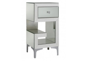 Arena Champagne Sparkle Right Bedside Cabinet