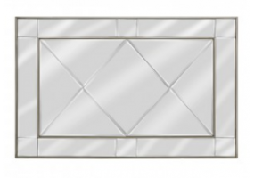 Bellmont Gold Wall Mirror