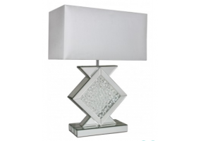 Azztoria Mirror Small Diamond Shape Table Lamp