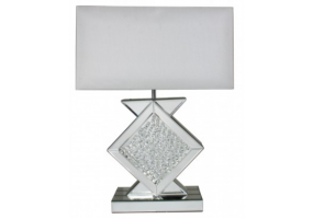 Azztoria Mirror Medium Diamond Shape Table Lamp