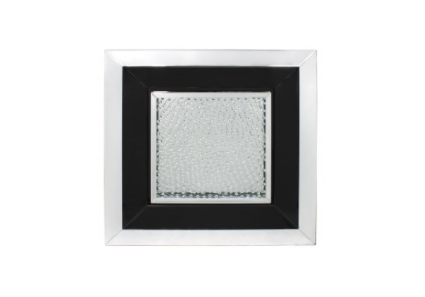 Azztoria Black Mirror Large Square Wall Art