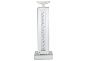 Azztoria White Mirror Medium Candle Holder