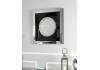Azztoria Black Mirror Large Circle Wall Art