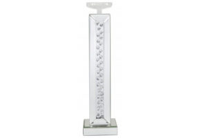 Azztoria White Mirror Large Candle Holder