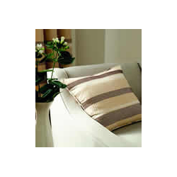 Arlington Natural Stripe Cushion Cover