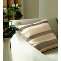 Arlington Natural Stripe Cushion Cover