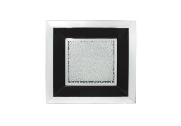 Azztoria Black Mirror Medium Square Wall Art