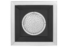 Azztoria Black Mirror Medium Circle Wall Art