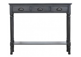 Grey Detta Medium Console Table
