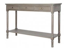 Taupe Detta Large Console Table