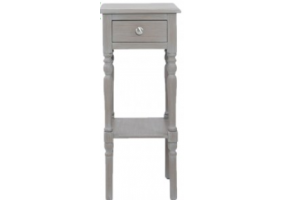 Detta Grey 1 Drawer Telephone Table