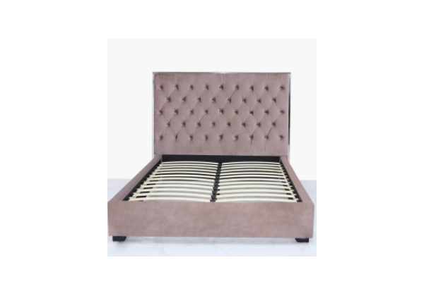 Pink Monaco King Size Bed Frame