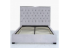 Grey Monaco Double Size Bed Frame
