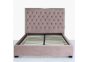 Pink Monaco Double Size Bed Frame