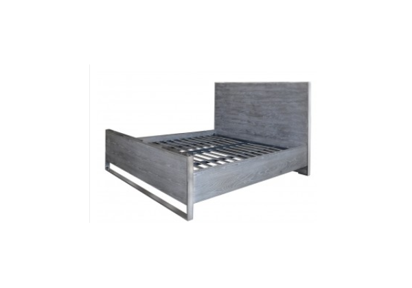 Diego Super King Size Grey Bed Frame