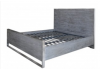 Diego Super King Size Grey Bed Frame