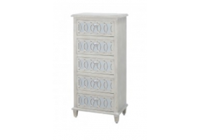 Bayside 5 Drawer Tallboy Cabinet