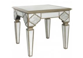 Morocco Mirror End Table