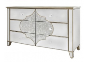 Morocco Mirror 6 Drawer Chest