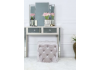 Tiana Soft Pink Tufted Stool