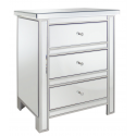Classic Mirror 3 Drawer Chest