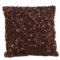 Bronze Sequin Crush Cushion