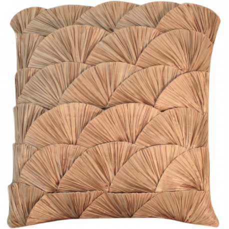 Mocha Ocean Shell Cushion