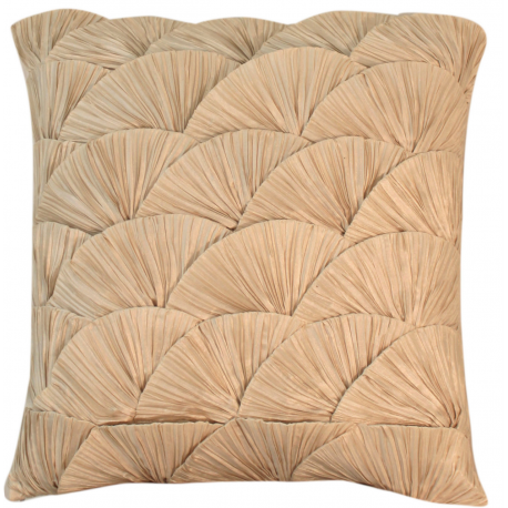 Ivory Ocean Shell Cushion