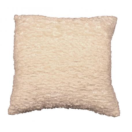Cream Sparkle Weave Cushion
