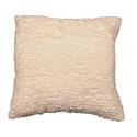 Cream Sparkle Weave Cushion