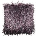 Purple Glam Shaggy Cushion
