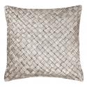 Silver Grey Basketweave Cushion