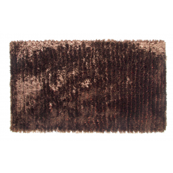 Chocolate Deep Pile Deluxe Shaggy Rug