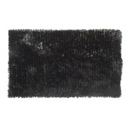 Black Deep Pile Deluxe Shaggy Rug