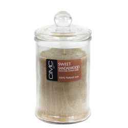 Sweet Sandalwood Large Candle in a Jar
