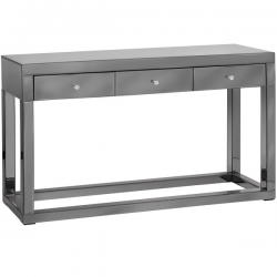Luxor Smoked Glass / Mirror XL console Table