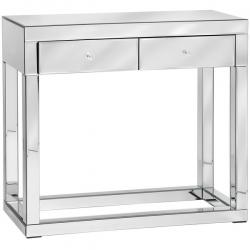 Luxor Mirror / Glass Console Table