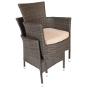 Rattan PVC Outdoor Garden Chair