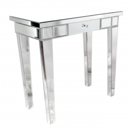 Mirror One Drawer Dressing / Console Table